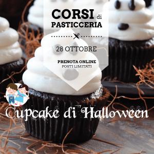 corso pasticceria cupcake di halloween