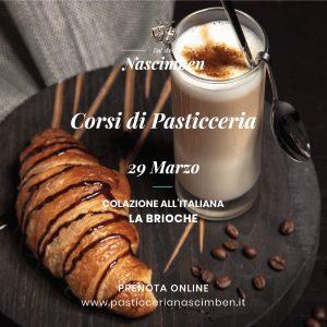 Corso Pasticceria Treviso Brioche